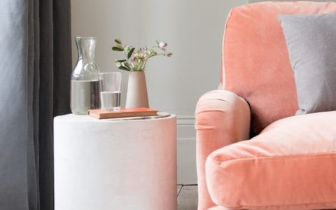 Coral Upholstery Fabrics Decorating Your Living Room