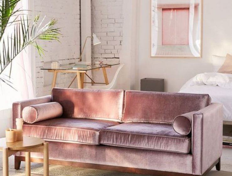 Upholstered Velvet Sofas to Rock your Living Room velvet sofas Upholstered Velvet Sofas to Rock your Living Room Upholstered Velvet Sofas to Rock your Living Room4 740x560