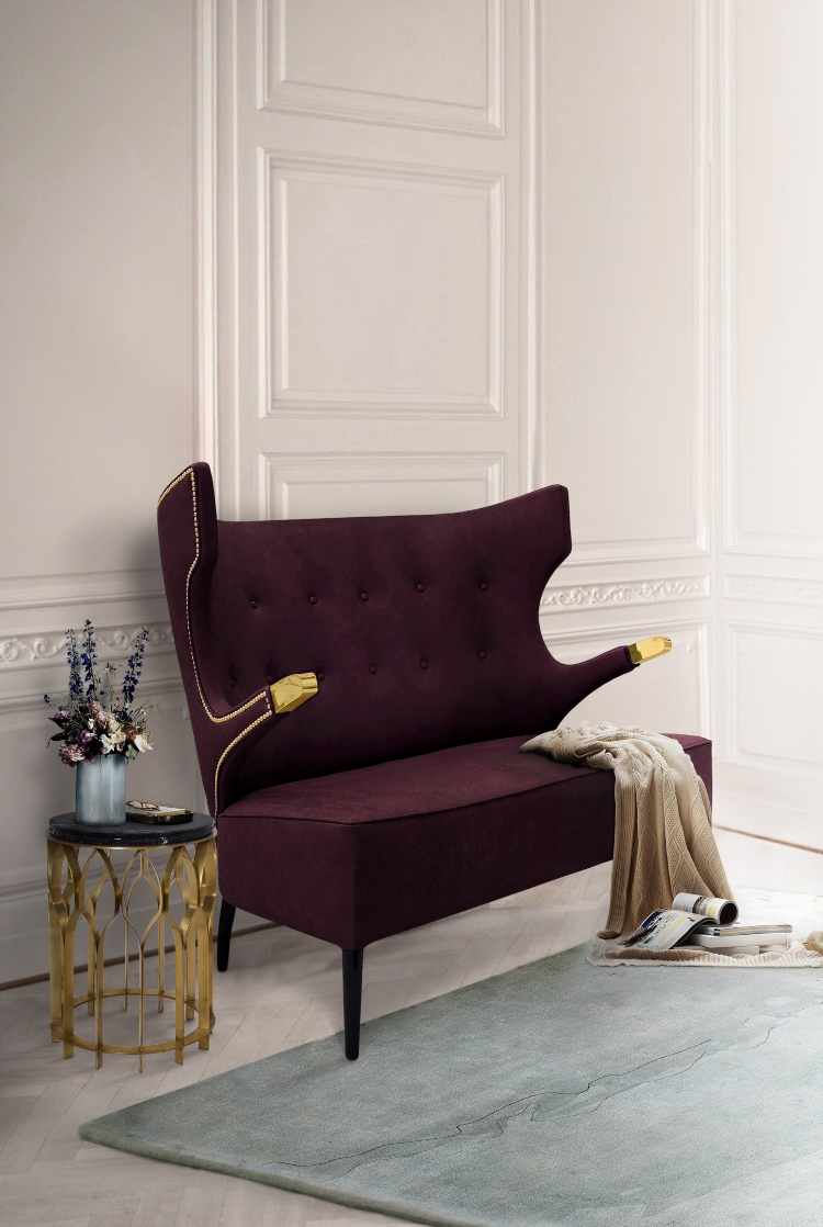 2020 Trends - Purple Shades 2020 trends Purple Shade Upholstery Inspirations SIKA SOFA