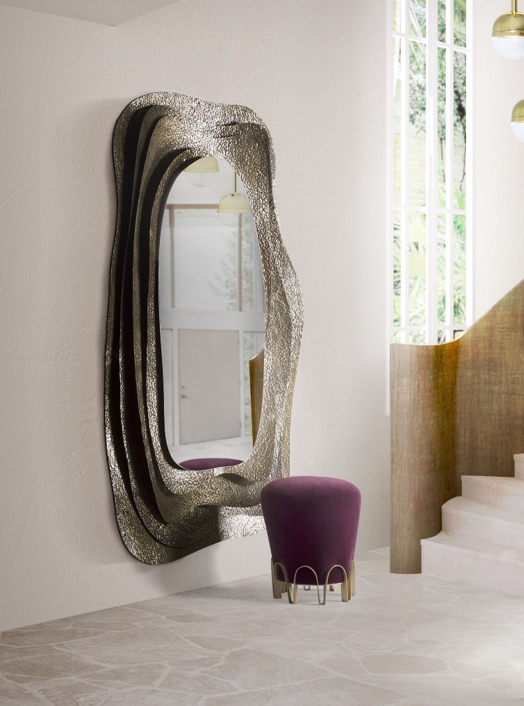2020 Trends - Purple Shades 2020 trends Purple Shade Upholstery Inspirations kumi mirror nui stool 1