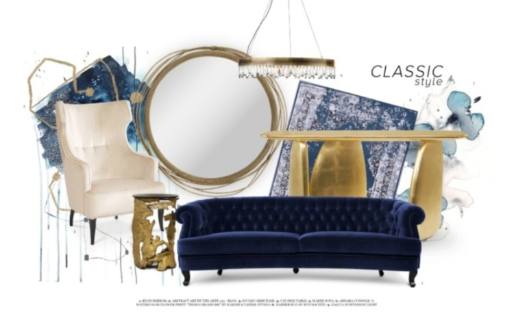 pantone Pantone's Colour of the Year – The Classic Blue Inspiration Pantones Colour of the Year Classic Blue 1