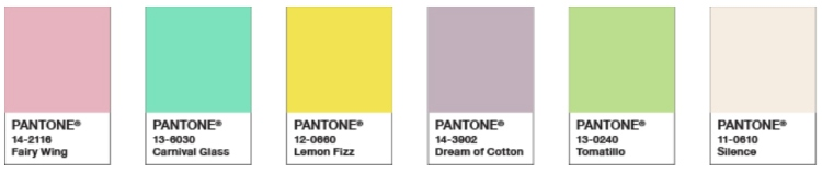 Pantone 2021 Colour Trends pantone 2021 spring summer colour trends Pantone 2021 Spring Summer Colour Trends Pantone 2021 Colour Trends 1