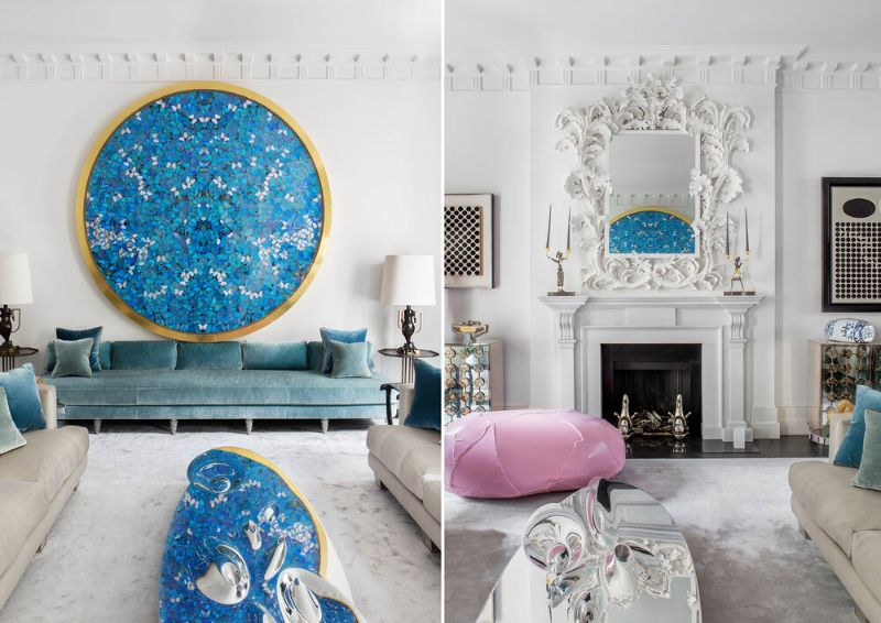 francis sultana Francis Sultana, Eponymous Bright and Colourful Upholstery Francis Sultana     Optimistic Living Room