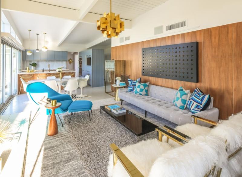 Michelle Boudreau Design Modern Living & Dining Room Designs