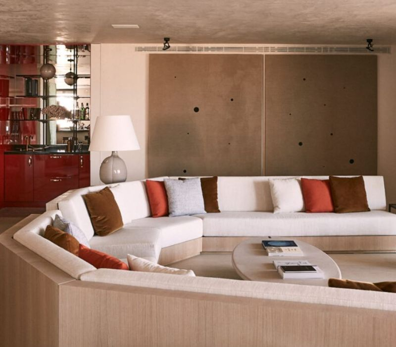 Casa Muñoz, Best Upholstered Options for a Contemporary Design