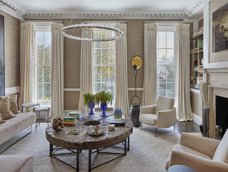 Fiona Barratt - Spectacular Upholstery Ideas for Living Rooms - Cheyne Walk
