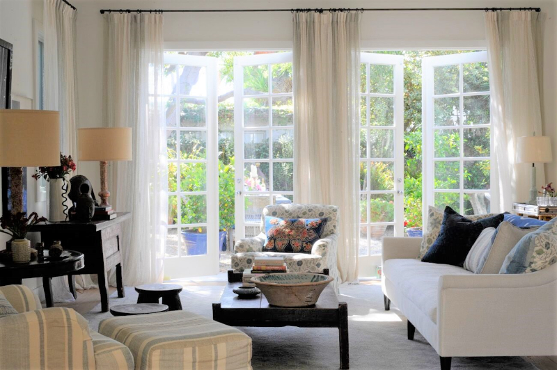 Interiors by Kathryn M Ireland with the Best Upholstery